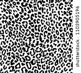 texture of natural fur  leopard.... | Shutterstock .eps vector #1103905196