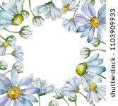 white daisy. floral botanical... | Shutterstock . vector #1103909933