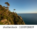 view along the rugged coastline ... | Shutterstock . vector #1103928839
