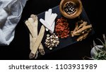 collection of natural raw... | Shutterstock . vector #1103931989