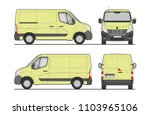 Commercial Cargo Van Template...