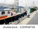 poole harbour  dorset  england  ...   Shutterstock . vector #1103968730