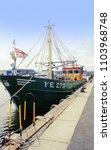 poole harbour  dorset  england  ...   Shutterstock . vector #1103968748