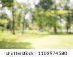 abstract blur city park bokeh... | Shutterstock . vector #1103974580