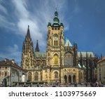 prague  czech republic   may 19 ... | Shutterstock . vector #1103975669