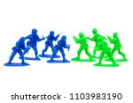 miniature toy soldiers to... | Shutterstock . vector #1103983190