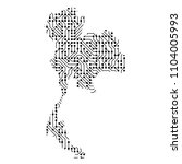 abstract schematic map of... | Shutterstock . vector #1104005993