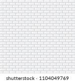 subway seamless white pattern.... | Shutterstock .eps vector #1104049769