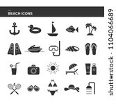 isolated black collection icon...   Shutterstock .eps vector #1104066689