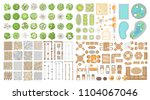 vector set. collection for... | Shutterstock .eps vector #1104067046