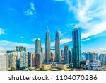 kuala lumpur  malaysia    may... | Shutterstock . vector #1104070286