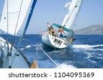 bodrum  turkey   august 03 ... | Shutterstock . vector #1104095369