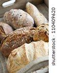 various kinds of fresh baked... | Shutterstock . vector #110409620