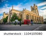 cambridge uk 1.6. 2018. the... | Shutterstock . vector #1104105080