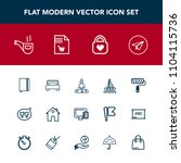 modern  simple vector icon set... | Shutterstock .eps vector #1104115736