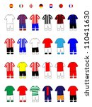 European Clubs Jerseys Football Kits A
