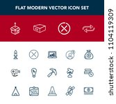 modern  simple vector icon set... | Shutterstock .eps vector #1104119309