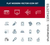 modern  simple vector icon set...   Shutterstock .eps vector #1104125753