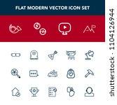 modern  simple vector icon set...   Shutterstock .eps vector #1104126944