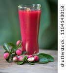 the red juice of ancient...   Shutterstock . vector #1104143018