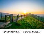 Sunrise Of The Great Ridge At...