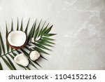 flat lay composition with... | Shutterstock . vector #1104152216