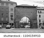 bologna  italy   circa... | Shutterstock . vector #1104154910