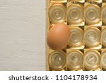 close up view of raw chicken...   Shutterstock . vector #1104178934