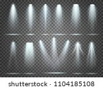 beam of floodlight  space...   Shutterstock .eps vector #1104185108