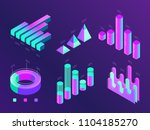 modern isometric business... | Shutterstock .eps vector #1104185270
