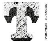 concrete vector font.uppercase... | Shutterstock .eps vector #1104207809