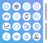 pack icon set and agile...
