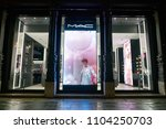 milan  italy   circa november ... | Shutterstock . vector #1104250703