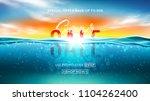 summer sale background template.... | Shutterstock .eps vector #1104262400