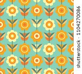 colorful seamless pattern with... | Shutterstock .eps vector #1104270086
