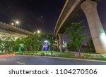 partial structure of the bridge ...   Shutterstock . vector #1104270506
