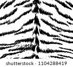texture of natural fur  tiger....   Shutterstock .eps vector #1104288419