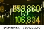 global financial and economy as ... | Shutterstock . vector #1104296699