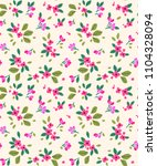 cute floral pattern in the... | Shutterstock .eps vector #1104328094
