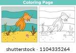 educational game for kids.... | Shutterstock .eps vector #1104335264