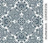 seamless pattern based on... | Shutterstock .eps vector #1104353156