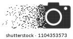dispersed photo camera dot... | Shutterstock .eps vector #1104353573