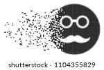 dissolved pension smiley dot... | Shutterstock .eps vector #1104355829