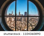 san francisco sky line from... | Shutterstock . vector #1104360890