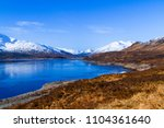 a lake within the scottish... | Shutterstock . vector #1104361640