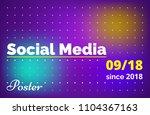 minimalistic gradient...   Shutterstock .eps vector #1104367163