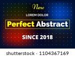 minimalistic gradient...   Shutterstock .eps vector #1104367169