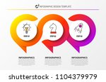 infographic design template.... | Shutterstock .eps vector #1104379979
