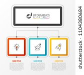 infographic design template.... | Shutterstock .eps vector #1104380684
