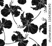 beautiful seamless floral...   Shutterstock .eps vector #1104383690